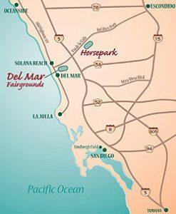Del Mar Map