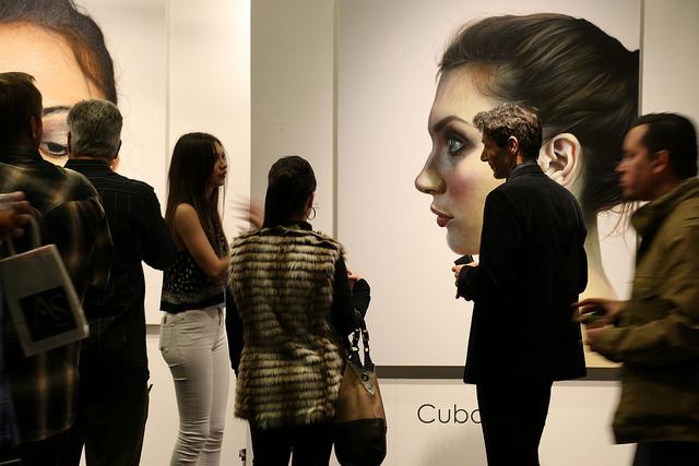 Paintings from Darian Rodriguez Mederos of Conde Contemporary Gallery/ARTE Cuba.