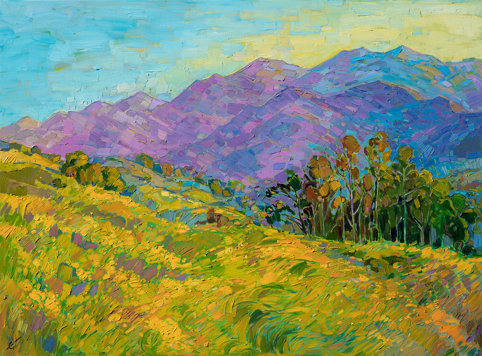 nature landscape erin mustard artists inspired hanson paintings painting artwork artist contemporary local impressionism wildlife california blooms feature three galleries
