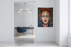 Frida III. A Tribute to Frida Kahlo by Ricardo Lowenberg