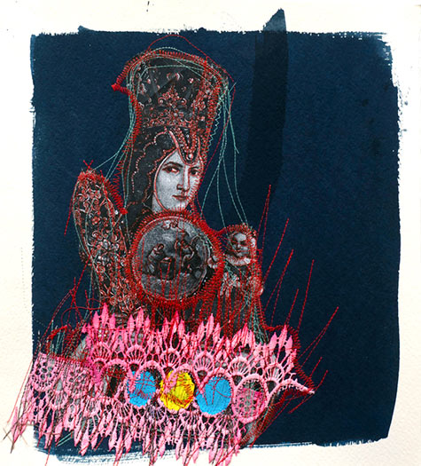 Griselda Rosas - Drawings & Stitch Collection